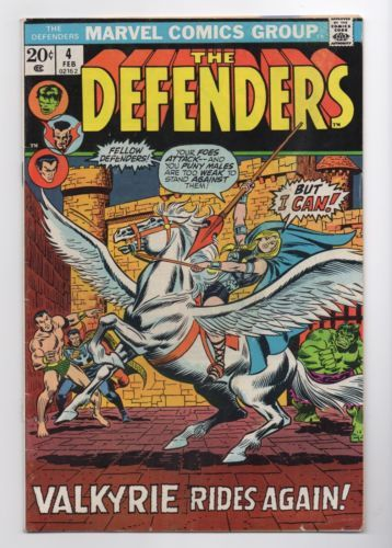 BOX 26 . MARVEL COMICS , THE DEFENDERS  ,THIS COMIC IS FOR DISPLAY