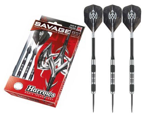 HARROWS SAVAGE - 85% Tungsten Darts 27grms Steel Tip