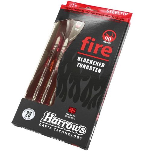 Harrows Fire 90% Tungsten Steel Tip Darts 23grms