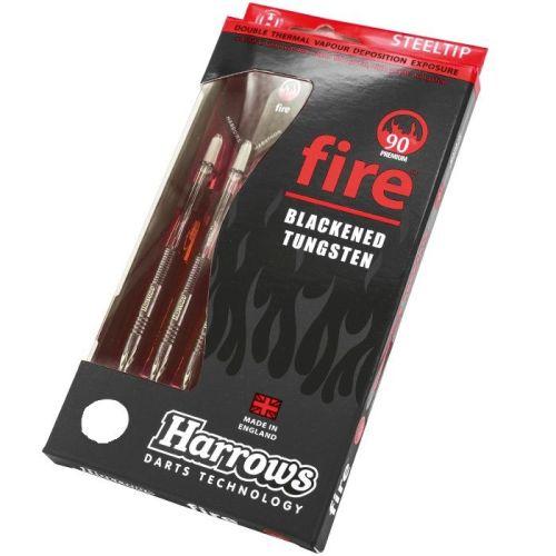 Harrows Fire 90% Tungsten Steel Tip Darts 25grms