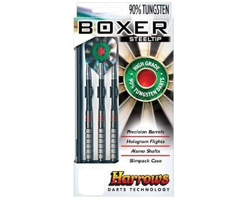 HARROWS BOXERS  - Tungsten Darts 25 grms   Steel Tip