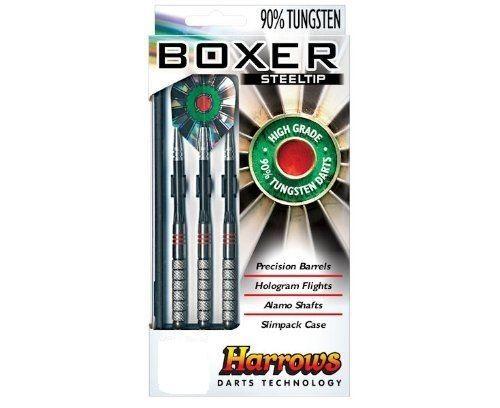 HARROWS BOXERS  - Tungsten Darts 27 grms   Steel Tip