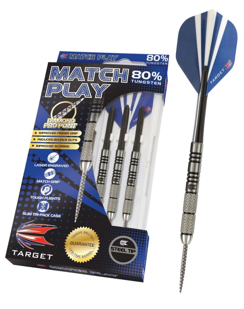 Target Match Play 80% Tungsten 28 GRMS