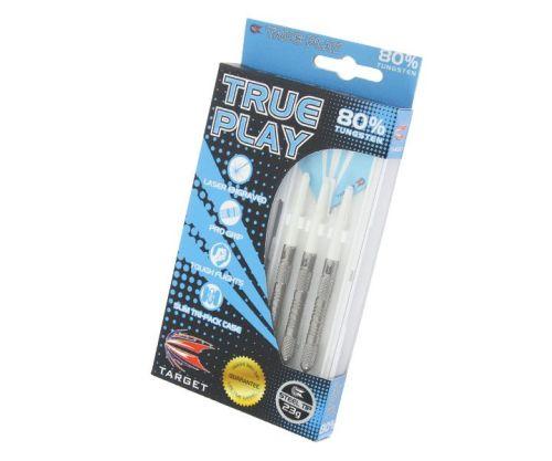 Target darts  true Play 80% Tungsten 23 GRMS