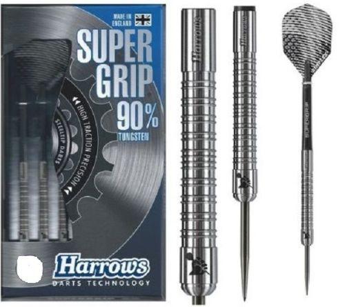 Harrows super grip  90% Tungsten Steel Tip Darts - 28g,