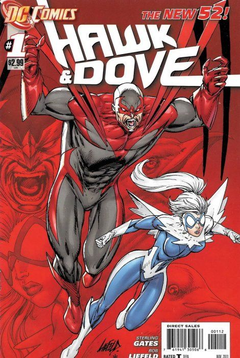 BOX 29 DC COMICS , dc comics hawk and dove ,THIS COMIC IS FOR DISPLAY