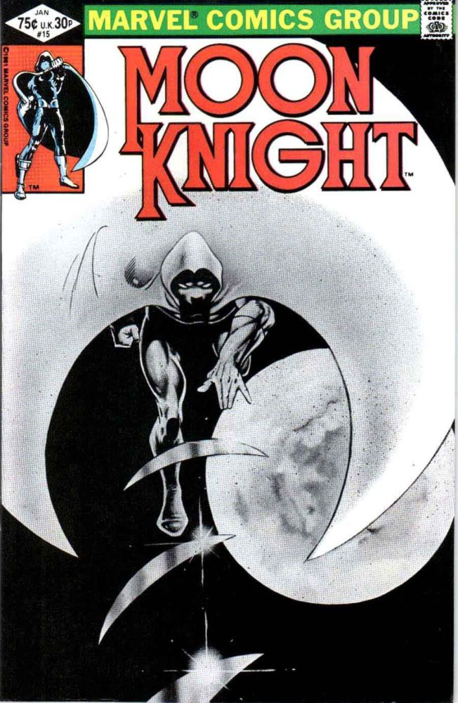 BOX  30 . MARVEL COMICS , moon knight   ,THIS COMIC IS FOR DISPLAY