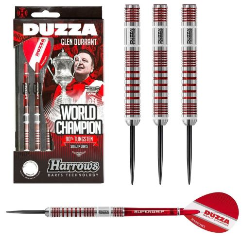 Glen Durrant Series 2 90% Tungsten Steel Tip Darts by Harrows