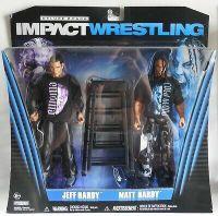 TNA Impact Wrestling Deluxe 2-pack - Jeff Hardy & Matt Hardy