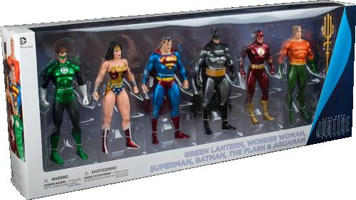 DC Justice League 6 Pack