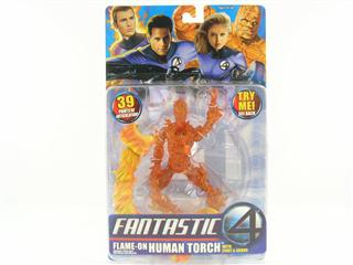 HUMAN TORCH .  ( FLAME-ON  )