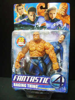RAGING THING WITH MR. FANTASTIC