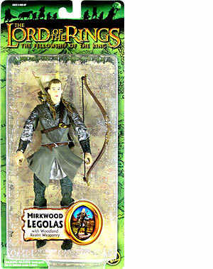 MIRKWOOD LEGOLAS (with woodland realm weaponry )