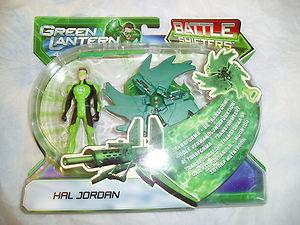 MATTEL / GREEN LANTERN / HAL JORDAN BATTLE SHIFTERS