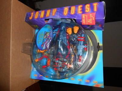 JONNY QUEST /  CYBER JET LIGHTS UP , QW-3
