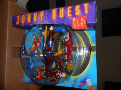 JONNY QUEST /  CYBER CYCLE  LIGHTS UP , QW-1