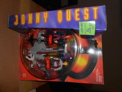 JONNY QUEST / SILENT STORM JESSIE & NIGHT STRYKER JONNY QUEST , JQ1