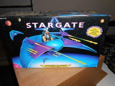 STAR GATE , WINGED GLIDER , ALIEN ATTACK CRAFT