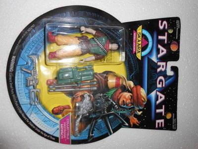 STAR GATE , SKAARA ( REBEL LEADER )
