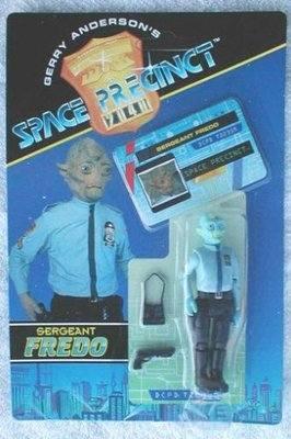 SPACE PRECINCT , SERGENT FREDO