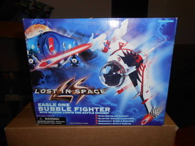 LOST IN SPACE , 1997 ,  EAGLE ONE BUBBLE FIGHTER