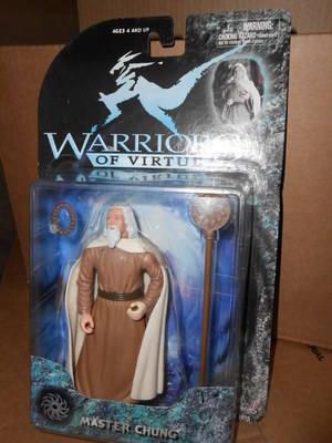 WARRIORS OF VIRTUE , MASTER CHUNG