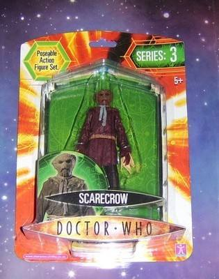 doctor who /  series 3 / scarecrow (BLUE)