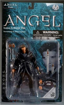 BUFFY THE VAMPIRE SLAYER , ANGEL ( VAMPIRE WITH LEATHER JACKET  ) EXCLUSIVE