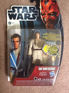 STAR WARS MOVIE HEROES , 16 , OBI WAN KENOBI