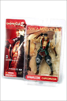 ONIMUSHA 2: SAMURAI'S DESTINY , saiga magoichi