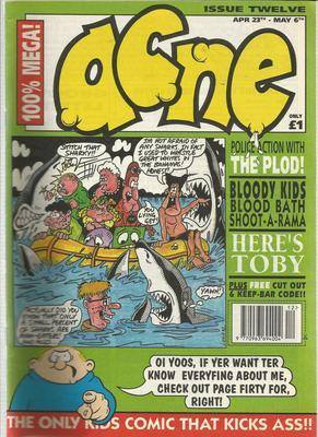 BRITISH COMICS  ACNE ,  issue 12,  (box-1)