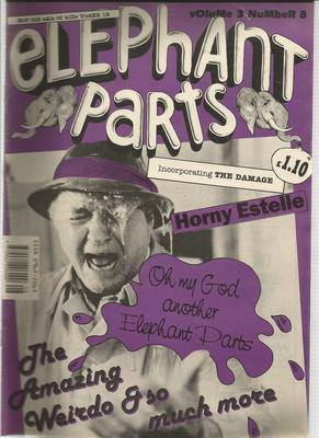 BRITISH COMICS  elephant parts  not for children  volume 3 no-8 ,  BOX-1