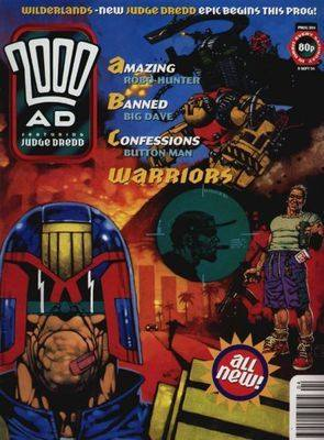 2000ad comic number prog 904