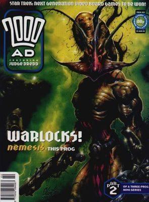 2000ad comic number prog 902