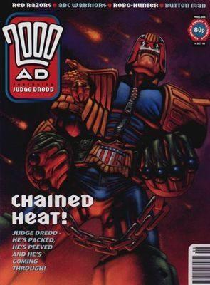 2000ad comic number prog 909