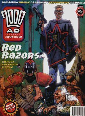 2000ad comic number prog 908