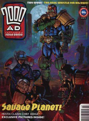2000ad comic number prog 907