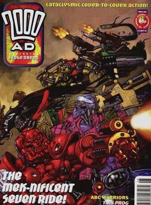 2000ad comic number prog 906