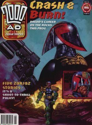 2000ad comic number prog 905