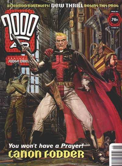 2000ad comic number prog 861