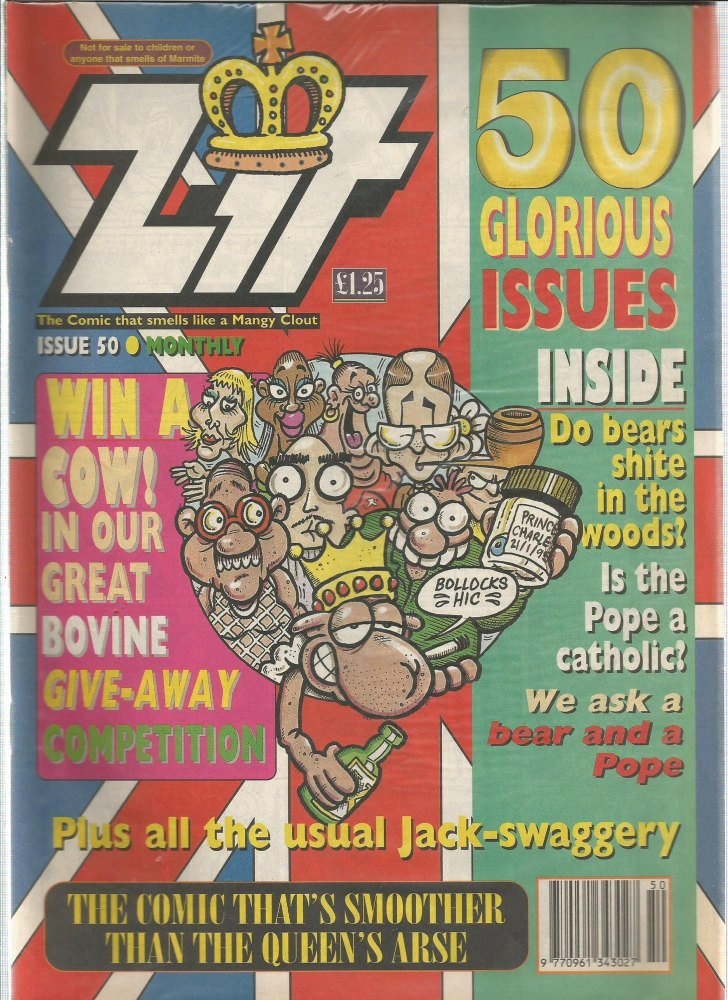 BRITISH COMICS > ZIT , NUMBER 50 (not for sale to children)