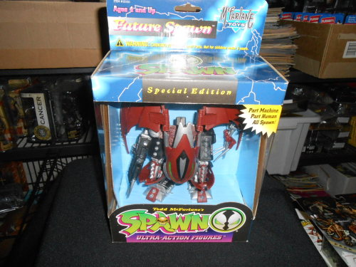 McFALANE TOYS /  SPAWN  /  FUTURE SPAWN / SPEACIAL  EDITION