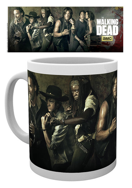 printed Officially Licensed Collector mug / walking dead (4)