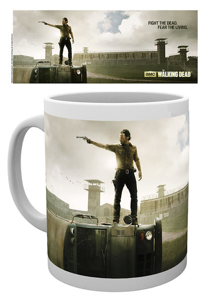 printed Officially Licensed Collector mug / walking dead (6)