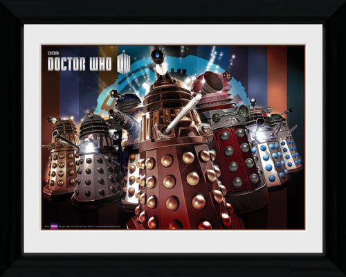 Framed Photographic > Collector Print Doctor Who Daleks