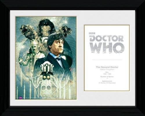Framed Photographic > Collector Print  Doctor Who 2nd Doctor Patrick Trough