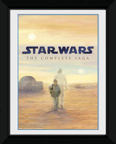 Framed Photographic > Collector Print , Star Wars Blu Ray Saga anakin