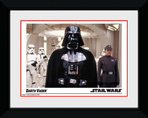Framed Photographic > Collector Print , Star Wars Darth Vader 15x20