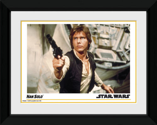 Framed Photographic > Collector Print , Star Wars Han Solo 15x20