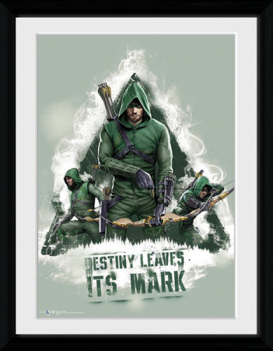 Framed Photographic > Officially Licensed Collector ARROW-destiny 30x40